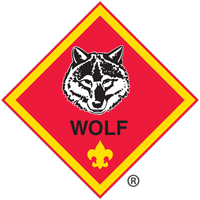 Cub Scout Wolf Badge