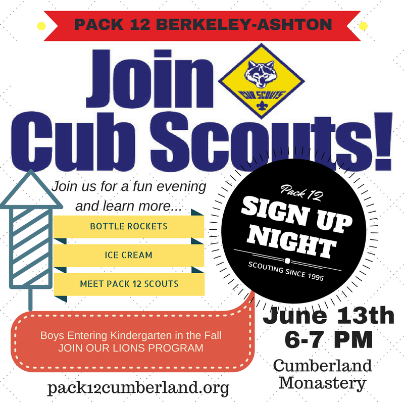 Join Cumberland Cub Scouts